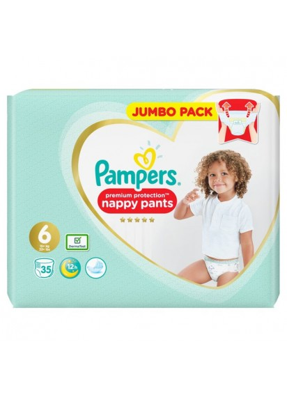 Pampers Pants Premium Protection 6 топ цена