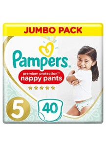 Pampers Pants Premium Protection 5 40 br