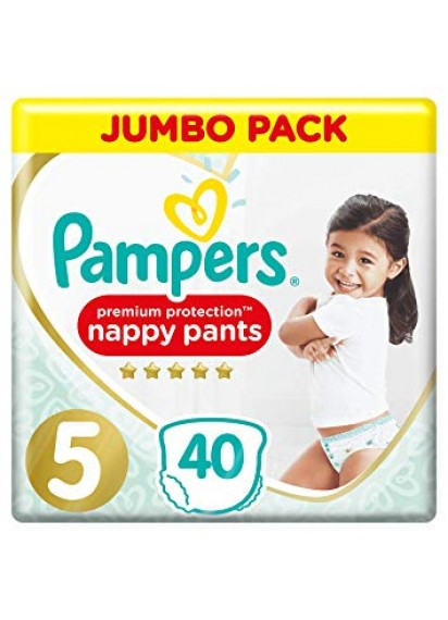 Pampers Pants Premium Protection 5 40 br топ цена