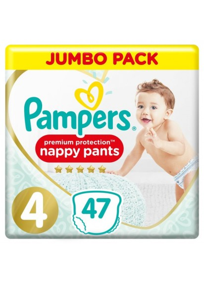 Pampers Pants Premium Protection 4 47 br топ цена