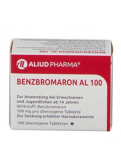 Бензбромарон Benzbromaron AL 100 цена 50 лв най-добото при подагра