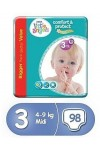 Pampers Little Angels 3 98 бр