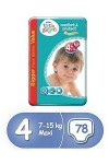 Pampers Little Angels 4 плюс 78 бр