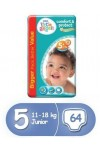 Pampers Little Angels 5 плюс 64 бр
