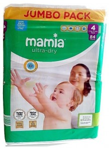 Pampers Mamia 4 84 бр