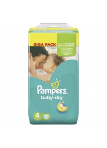 Pampers Baby Dry размер 4
