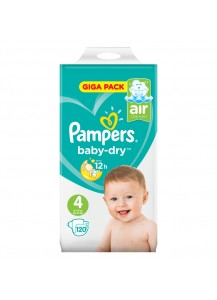 Pampers Baby Dry размер 4 120 бр