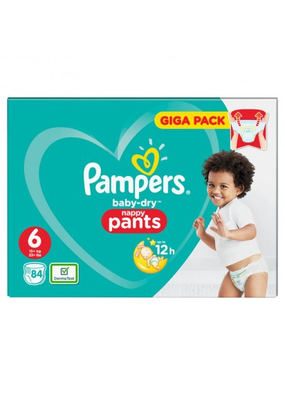Pampers Baby Dry Pants размер 6 84 бр топ цена 35 лв