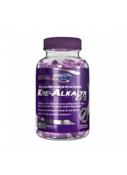 All american efx kre-alkalyn efx 120 caps. Кре-алкалин за повече сила