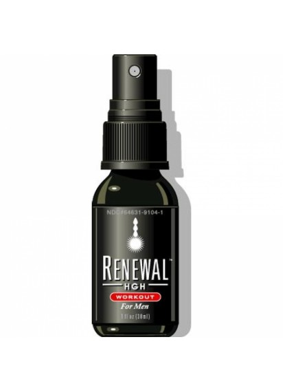 Always young renewal hgh workout for men 180 sprays спрей за сила за спортисти