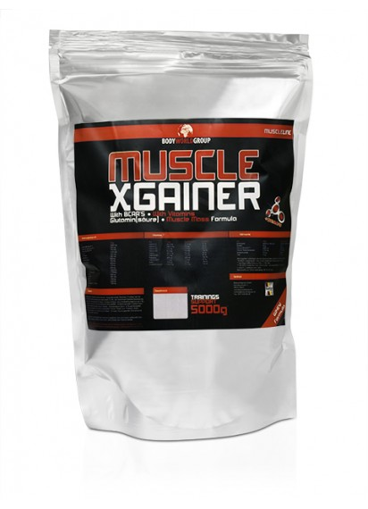 BWG Muscle X Muscle Gainer гейнър за мускулна маса за начинаещи