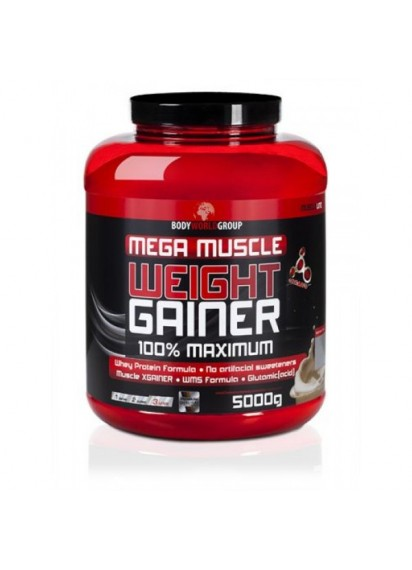 Mega Muscle Weight Gainer 5 кг. BWG