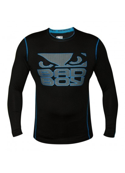 Bad Boy Carbon Rash Guard Рашгард карбон черно-синя