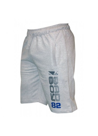 Bad Boy Cotton Shorts Grey Памучни сиви шорти