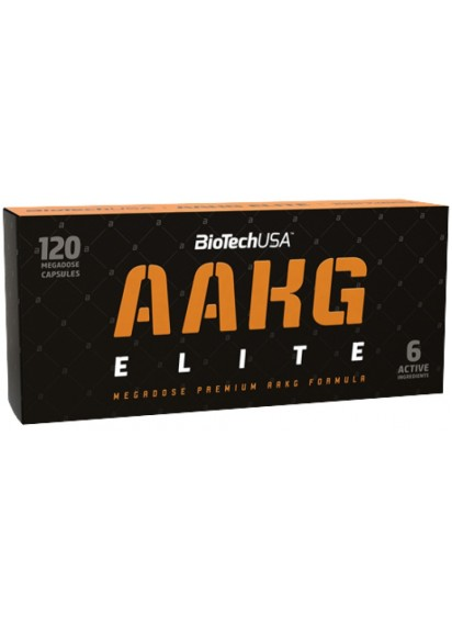 AAKG Elite Biotech USA 120 капсули ААКГ топ цена
