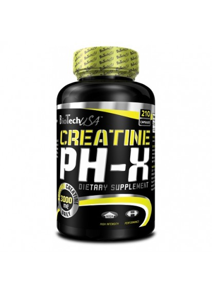 Biotech usa creatine ph-x 210 caps Креатин на капсули