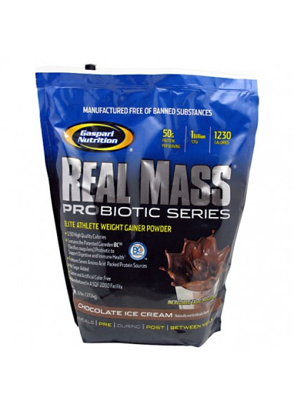 Gaspari real mass probiotic geiner