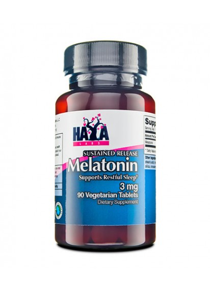 Haya labs sustained release melatonin (мелатонин) на цена 11 лв.
