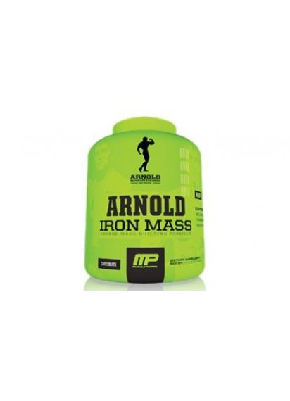 Musclepharm arnold series iron mass гейнър за маса Арнолд Сериес