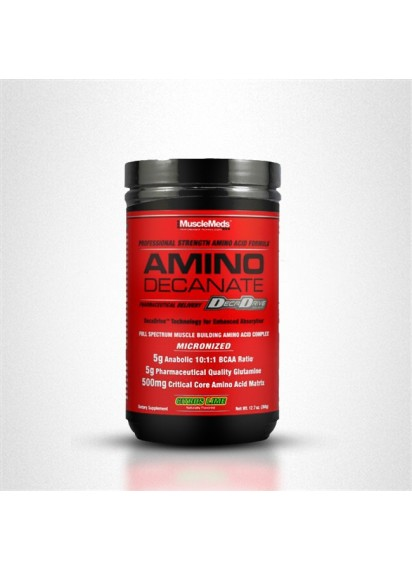 Musclemeds amino decanate аминокиселини 10:1:1 с глутамин