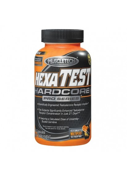 Muscletech hexatest hardcore тестостеронов бустер с л-карнитин
