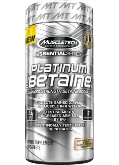 Muscletech platinum 100 betaine (Бетаин на капсули)