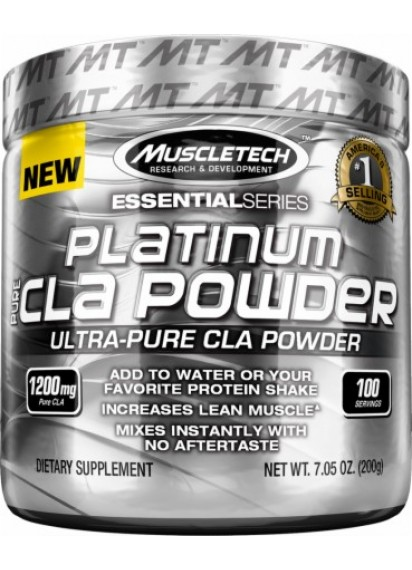 Muscletech platinum pure cla powder (Линолова киселина)