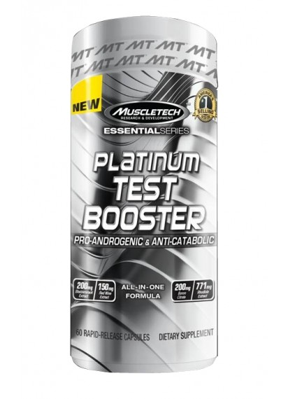 Muscletech platinum test booster Тестостеронов буустър