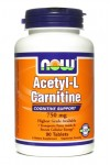 NOW Acetyl-L Carnitine (750 mg) 90 tabs Ацетил Л-карнитин