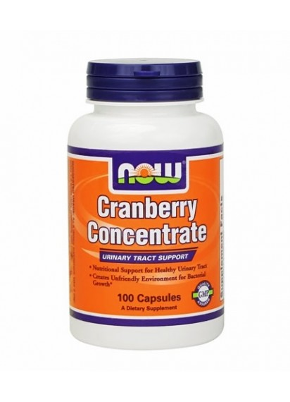 NOW Cranberry Concentrate 100 caps (Екстракт от боровинка)