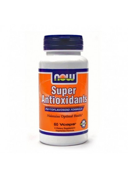 NOW Super Antioxidants 60 caps (Антиоксидантен комплекс)