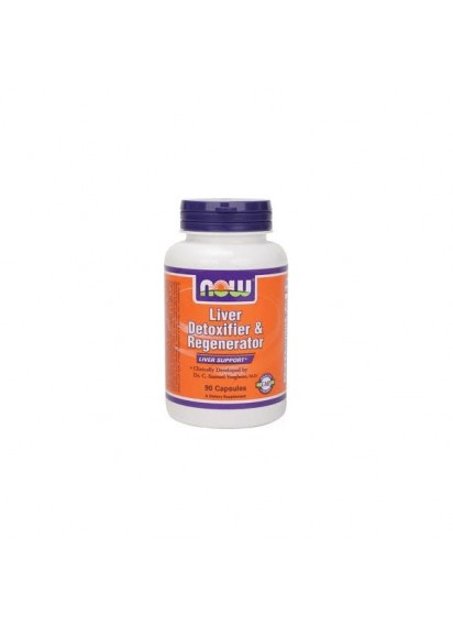 Now foods liver detoxifier and regenerator 90 capsules
