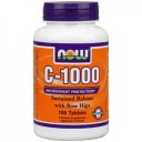 NOW foods vitamin C 1000 sustained release with rose hips