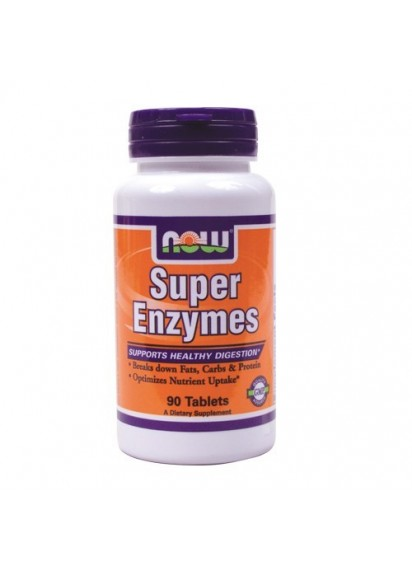 Now super enzymes 90 tabs (Ензимен комплекс)