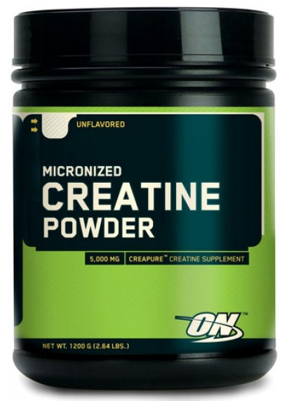 Optimum nutrition creatine powder 1200 grams