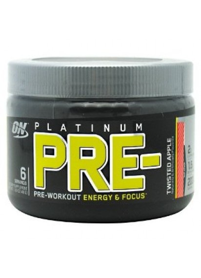 Optimum nutrition platinum pre-workout 112 грама азотен буустър
