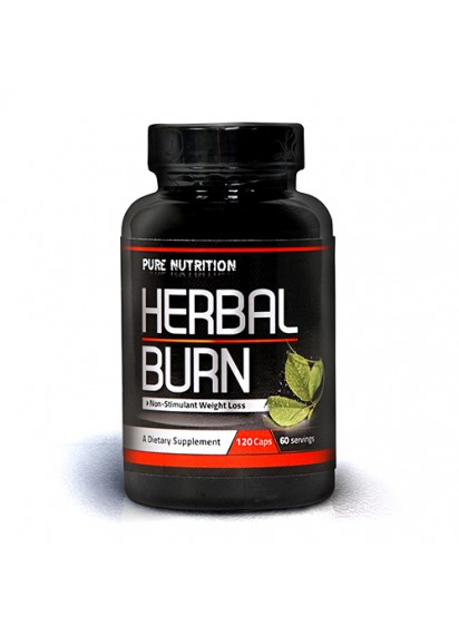 Pure nutrition herbal burn (липотропен фет бърнер)