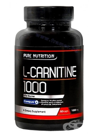 Pure nutrition l-carnitine 1000 (L-карнитин)