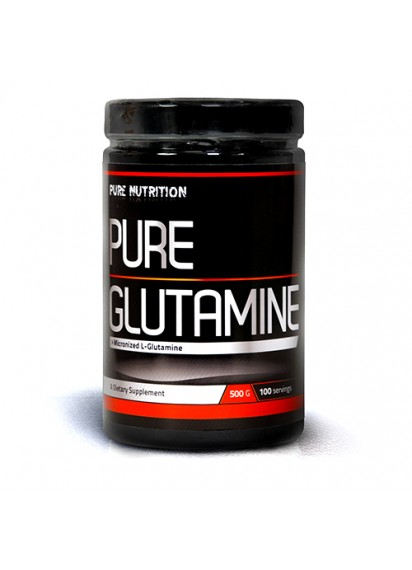 100% Glutamine pure nutrition (L-глутамин)