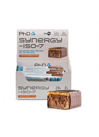 PhD Nutrition Synergy Iso 7 bar протеинова вафла