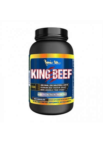 King beef protein Ronnie Coleman 908 грама