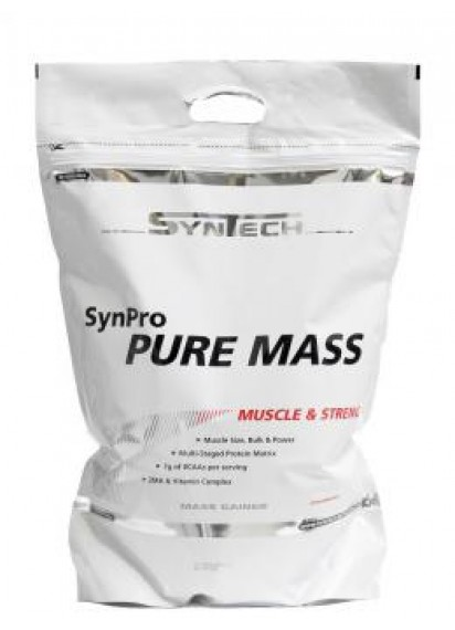 Syntech Synpro pure mass (Гейнър с БЦАА и ЗМА)