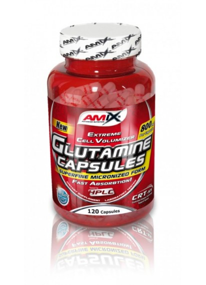 Amix l-glutamine 800 mg 120 caps глутамин на капсули на цена 30 лв.