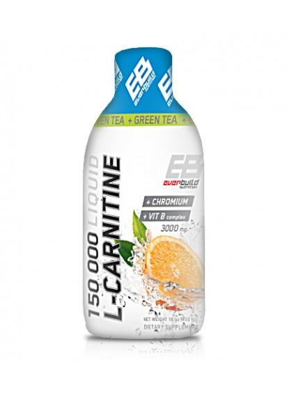 Everbuild liquid l-carnitine течен л карнитин с зелен чай