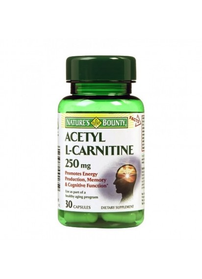 Natures Bounty Acetyl L-Carnitine Ацетил ел карнитин