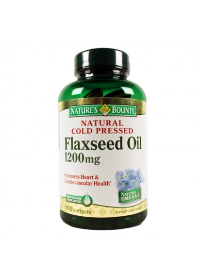 Natures bounty flaxseed oil Масло от ленено семе