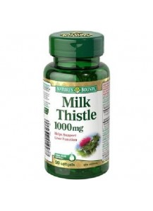 Natures bounty milk thistle (магарешки трън) магарешки бодил таблетки