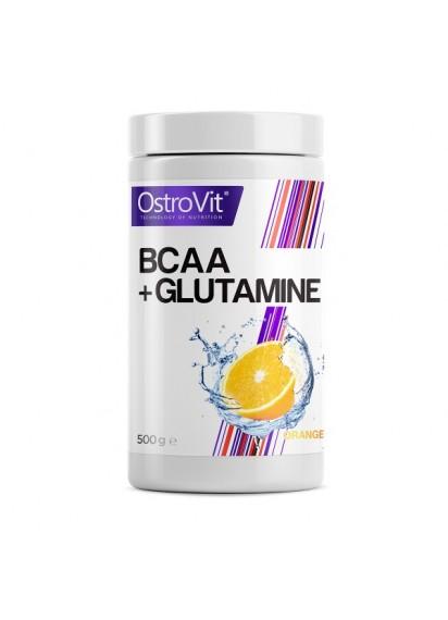 Ostrovit BCAA Glutamine 500 gr топ цена