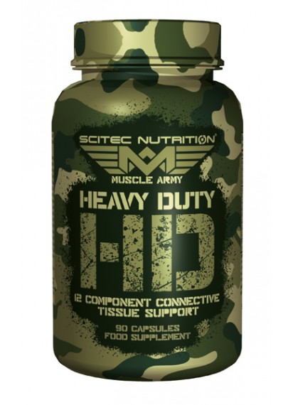 Scitec muscle army heavy duty продукт за здрави стави