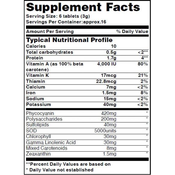 Резултат с изображение за HAYA LABS Organic Spirulina Powder